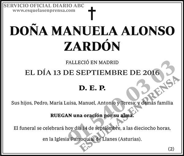 Manuela Alonso Zardón